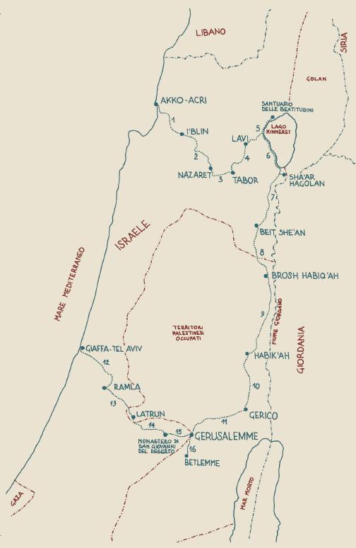 Paolo Giulietti, A piedi a Gerusalemme, edizioni Terre di Mezzo 2012
